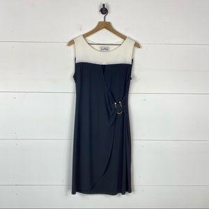 Joseph Ribkoff Colorblock Sleeveless Dress Size 12